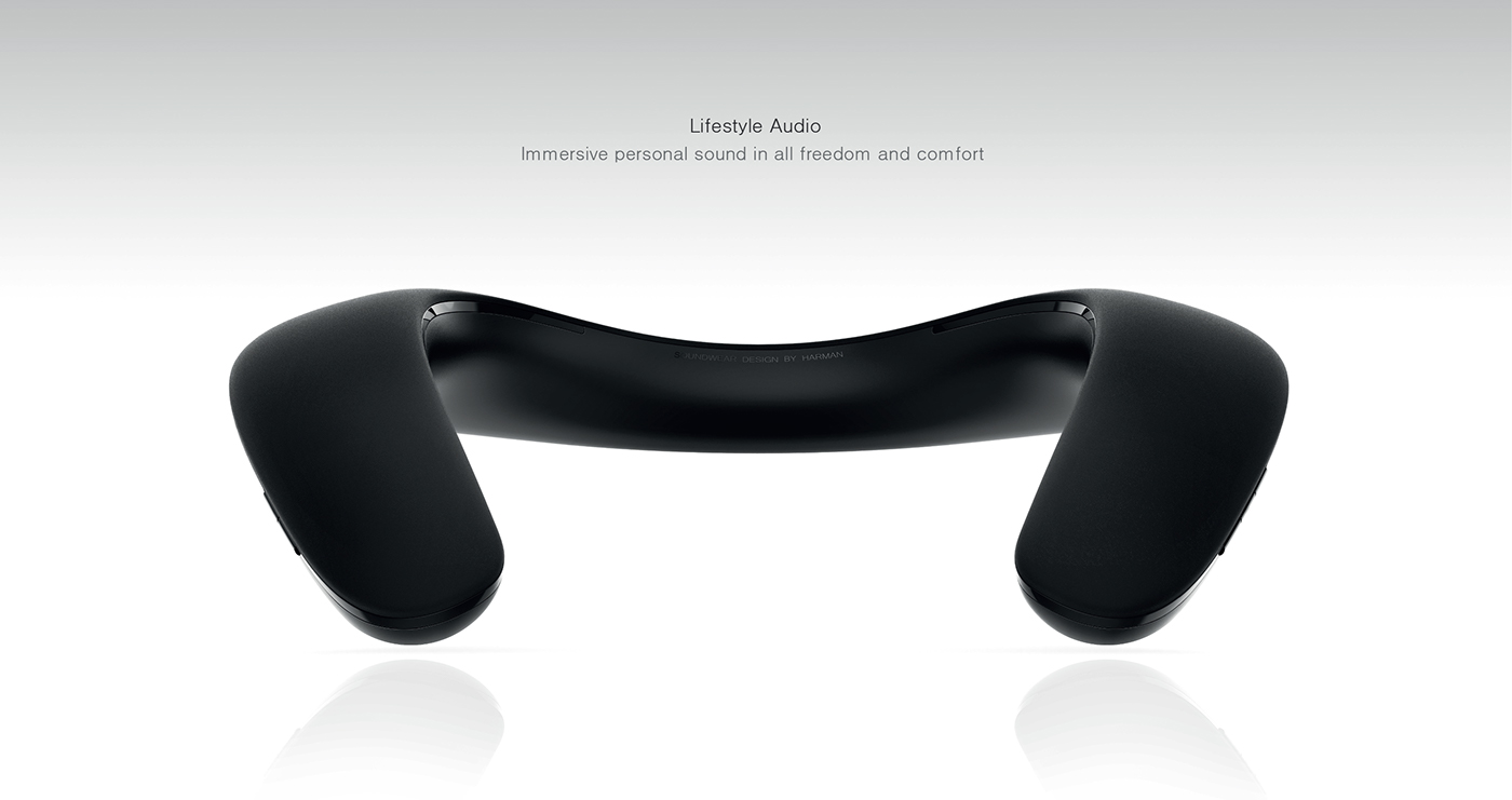 JBL可穿戴蓝牙扬声器设计