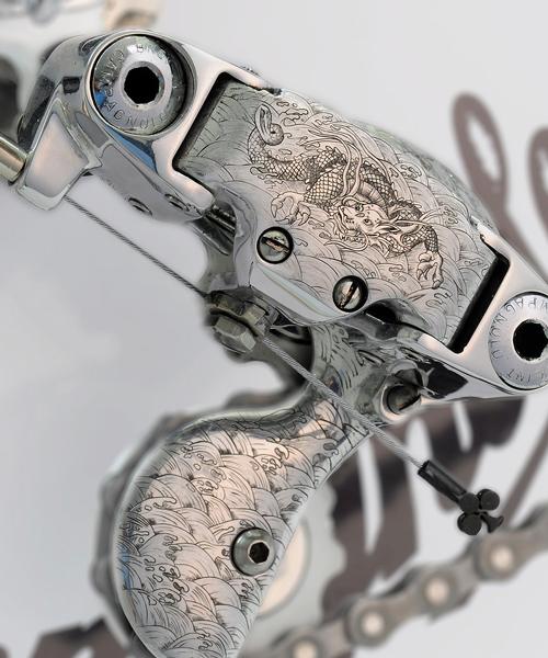 复古豪华自行车设计