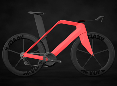 Revolt全碳纤维轻便自行车设计